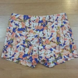 💥3 for $20💥 J Crew Stretch Flowered Shorts  Sz 6